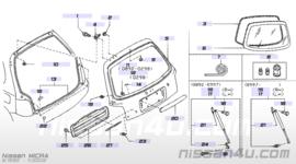 Kentekenverlichtinghouder Nissan Micra K11 90810-5F100