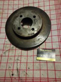Remschijf Nissan Almera N15. Vooras. 40206-2N301