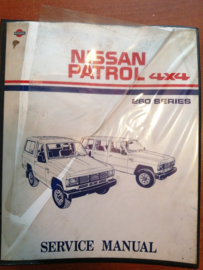 Service manual '' Model 260 series '' Nissan Patrol 4X4