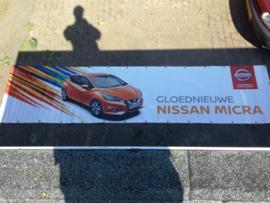 Reclamezeil Nissan Micra K14