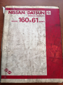 Service manual '' Model 160 & 61 series '' SM1E-0160G0 Nissan Patrol 160/61