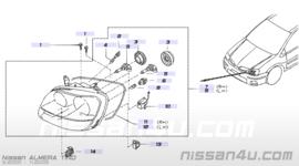 Koplamp links Nissan Almera Tino V10 26060-BU800