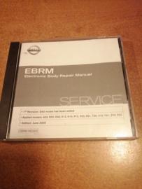 Electronic Body Repair Manual '' Model A33/ D22 / D40/ K12/ N16/ P12/ R20/ R51/ T30/ V10/ Y61/ Z33/ Z50