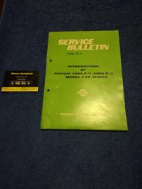 Service Bulletin Nissan Datsun volume 221A
