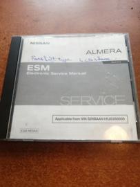 Electronic Service manual '' Model N16 series '' Nissan Almera N16 SM2A00-1N16E1E