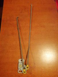 Draaipunt deurstangbediening links Nissan Micra K11 80511-4F105