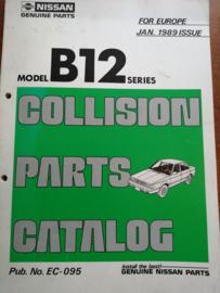 Collision parts catalog model B12 series Nissan Sunny B12 EC-095