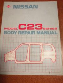 ''Body repair manual C23 '' Reparatie handboek Nissan Serena C23