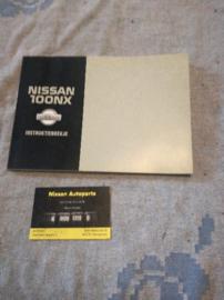 Instructieboekje '' Nissan 100NX B13'' OM3D-0B13E0E