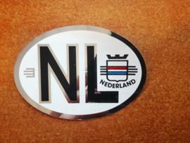 Sticker NL ( logo Nederland )