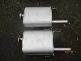 Achterdemper Nissan Sunny Traveller/wagon Y10 20100-79R00