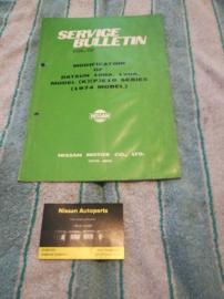 Service bulletin Nissan Datsun volume 192