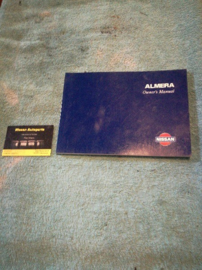 Instructieboekje ''Nissan Almera N15'' OM5E0N15E1E