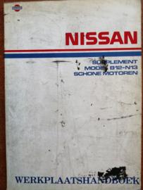 Werkplaatshandboek '' Model B12 en N13 Supplement '' SM7D-N13SG0
