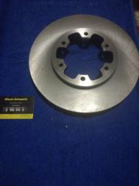 Remschijf vooras 277mm Nissan 40206-0F001 D21/D22/R20/WD21