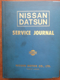 Nissan Datsun service journal