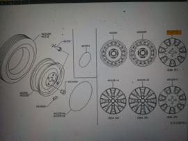 Sierdop Nissan Micra K12 40315-BG07B