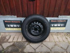 14 inch reservewiel 185/65R14 Continental Supercontact Nissan Primera P11 40300-2F000