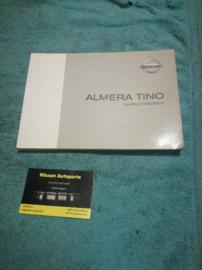 Instructieboekje'' Nissan Almera Tino V10'' OM1D-OV10E2E