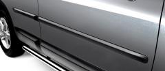 Zwarte sierlijstenset Nissan Qashqai JJ10 KE760-EY020