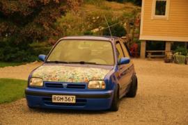 Verlagingsverenset Nissan Micra K11 2-1998 tot 11-2002