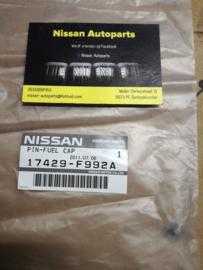 Pin tankdop Nissan Juke F15 17429-F992A