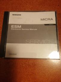 Electronic Service manual '' Model K12 series '' Nissan Micra K12 SM3E00-1K12E0E
