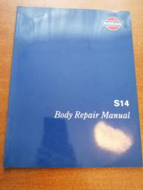 ''Body repair manual S14 '' Reparatie handboek Nissan 200SX