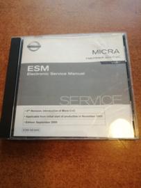 Electronic Service Manual '' Model K12 series '' Nissan Micra K12 SM5E00-1K12E1E