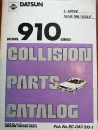 Collision parts catalog model 910 series Nissan Bluebird 910 EC-043