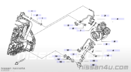 Gereviseerde turbo YD25DDTI Nissan Navara D40 / Nissan Pathfinder R51 14411-EB300