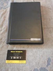 Opbergmap voor instructieboekjes Nissan grijs