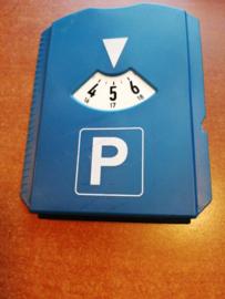 Kunststof parkeerkaart
