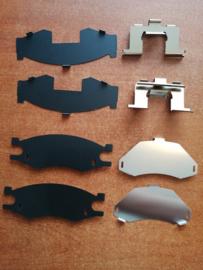 Hardware-kit remklauw vooras Nissan Serena C23 41083-Y9526
