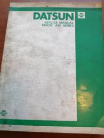 Service manual '' Model A10 series'' Datsun Violet A10 SM0E-A10G0