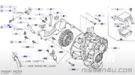 Koolborstelhouder automaatbak Nissan Micra K11 30051-41B00