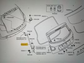 Gasveer achterklep Nissan Qashqai J10 90450-JD01B