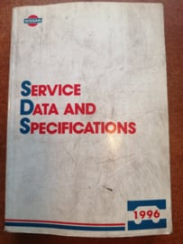 Service Data and Specificaties 1996 SD6E-0ALLG0