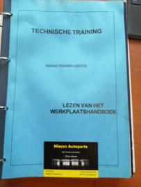 Cursusboek / diverse trainingen Nissan