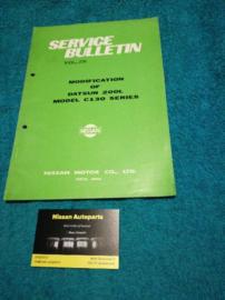 Service Bulletin Nissan Datsun Volume 236
