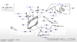 Bovenste radiateurslang SR20DE Nissan Almera Tino V10 21501-BU500