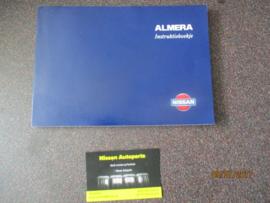 Instructieboekje ''Nissan Almera N15''