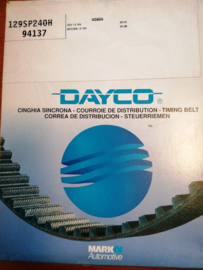 Distributieriem Honda CRX I / Honda Integra I Dayco 94137
