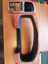 Afschermkap kilometerteller Nissan Primera P11 68240-2F900-WOOD Eikenhout