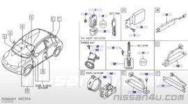 Wirelesskeysensor Nissan 285E7-AX100
