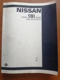 Service manual '' Model 910 series '' SM0E-0910G0 Nissan Bluebird 910