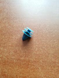 Bevestigingsclip blauw deurpaneel Nissan 01553-0005E