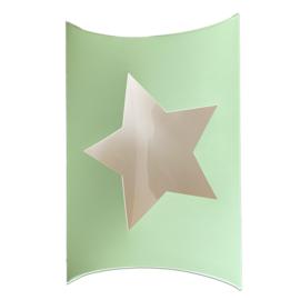 Pillowbox star mint - window