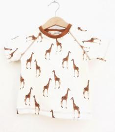 T-shirt Giraf