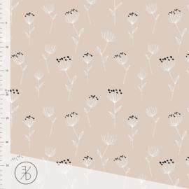 Organic Jersey - Florette (Nude Tint)
